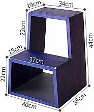 Zwei-Stufen-Treppenhocker, leichte und robuste