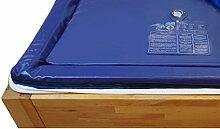 Zwei Wassermatratzen 180x200 cm dual MESAMOLL 2 Wasserkern-Matratzen Wasserbett-Matratze für 180x200 cm Softside Wasserbetten (120% = 0 Sek. Ultrafest (Visko-Komfort))