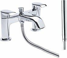 Zweigriff-Badarmatur Aufputz Brier Belfry Bathroom