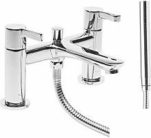 Zweigriff-Badarmatur Aufputz Landes Belfry Bathroom