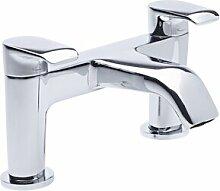Zweigriff-Badarmatur Aufputz McKew Belfry Bathroom