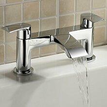 Zweigriff-Badewanne-Wasserhahn Trebeck