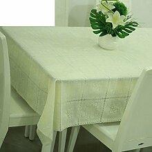 Zweiseitige Garten Spitzen Tischdecke/Tischdecke decke/ zu vermeiden/wasserdichtPVCTischdecken/wasserdichte Tapete-D 120x136cm(47x54inch)
