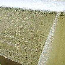 Zweiseitige Garten Spitzen Tischdecke/Tischdecke decke/ zu vermeiden/wasserdichtPVCTischdecken/wasserdichte Tapete-G 80x136cm(31x54inch)