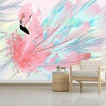 Zwgjwj Benutzerdefinierte 3D Cartoon Pink Flamingo
