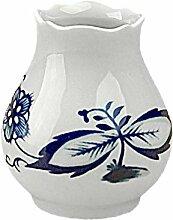 Zwiebelmuster Triptis Vase Blumenvase Tischvase