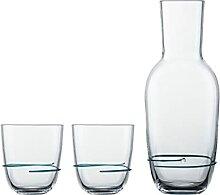 Zwiesel Glas 121695 smaragdgrün Glas-Set, 750ml