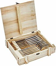 ZWILLING Steakmesser-Set, 12-teilig, Edelstahl