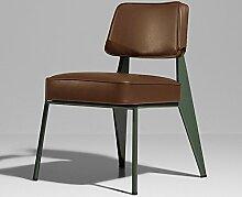 ZWL Bar Stühle, Retro Eisen Bar Hocker Hohe Bar Hocker Geometrie Bar Stuhl KTV Bar Thema Stuhl Restaurant Retro Stühle Älter Freizeit Stuhl Mode ( Farbe : F )