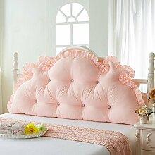 ZWL Double Kissen Große Rückenlehne Lange Kissen können gewaschen und gewaschen Kissen Home Bedside Bett Kissen Fashion. z ( Farbe : F , größe : 1.2M )