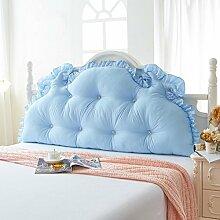 ZWL Double Kissen Große Rückenlehne Lange Kissen können gewaschen und gewaschen Kissen Home Bedside Bett Kissen Fashion. z ( Farbe : D , größe : 1.2M )