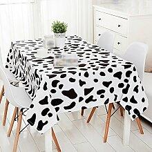 ZWL Einfache moderne Kühe Spot Tischdecke