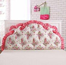 ZWL Große Kissen Printing Double Soft Case Rückenlehne Bedside Cotton Home Lendenwirbel Schlafzimmer Back Pad Taille Kissen Wohnzimmer Sofa Kissen Bett Kissen Fashion. z ( Farbe : #6 , größe : 120*70CM )