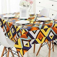 ZWL Mode Tischdecke Modern Einfache Geometrie