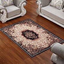ZWL Teppich Wohnzimmer Couchtisch Schlafzimmer Bettvorleger Blending American Garden Home Klassisch-Shop Speicher-Rack. z ( Farbe : A , größe : 170*240CM )