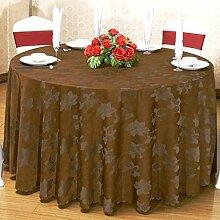 ZWL Tischdecke Hotel Bankett Baumwolle Round Table