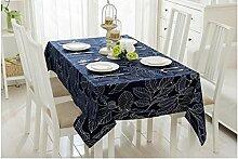 ZWL Tischdecke Moderne minimalistische Baumwolle