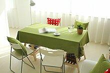 ZWL Tuch Tischdecke Leinen Leinwand Freizeit