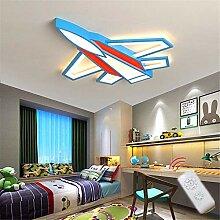 ZWY Deckenlampe Flugzeug Schlafzimmerlampe LED
