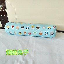 ZWYZXY Baumwolle lange Kissen große zylindrische Bett schlafen Lenden Kissen Kissen Freund candy Kissen, 20 x 120 cm, Gezeiten von Kaninchen zu demontieren
