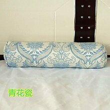 ZWYZXY Baumwolle lange Kissen große zylindrische Bett schlafen Lenden Kissen Kissen Freund candy Kissen, 15 x 60 cm demontieren, Porzellan