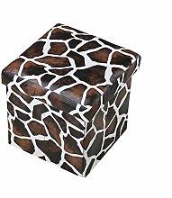 ZWZT Quadratische Kreativlagerung Dual-Use Hauptspeicher-Schemel kann leicht entfernbarer faltender Schemel sein , a , 30*30*30cm