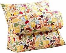 ZX-cushions Triangle Büro Lendenkissen Bett Rückenkissen Schlafsofa Kissen Nackenkissen Kissen Bequeme und weiche Kissen ( größe : 60*50*22CM )