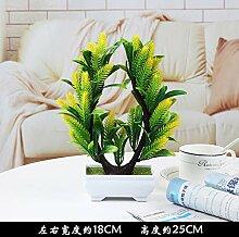 ZXD123 Kreative Simulation Pflanze Bonsai