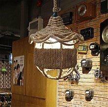 ZXDLCL Deckenleuchte Lampe Industrie Retro