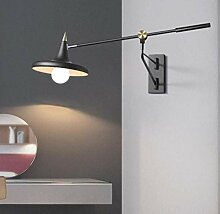 ZXF Kreative Verstellbare Wandlampe Vintage