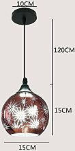 ZXF LED Restaurant kugelförmigen Kronleuchter