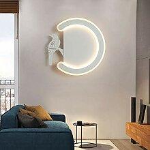 ZXF Moderne Ideen Einfache Nachttischlampe LED