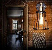 ZXF Rustikale Loft Wandlampe Industrielle Vintage