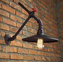 ZXF Vintage Industriestil Wandlampe Kreative