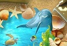 (Zxfcccky) 3D Sand Strand Dolphin 5