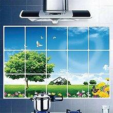 Zxfcczxf 75 * 45 Cm Dunst Aufkleber Küche