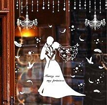 Zxfcczxf Benutzerdefinierte Hochzeit Shop Windows