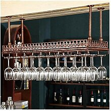 ZXH77f Bar Weinschrank Hängende Regal Kelch Rack