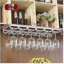ZXH77f Haushalt Becher Rack Wein Weinglas Rack Bar