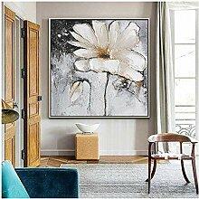 zxianc Druck auf Leinwand Blumenbild Leinwand