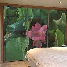 ZXINHome 3D UV Schutz Glasmalerei Fensterfolie