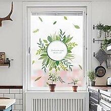 ZXINHome Fensterfolie Befleckte Statisch Haftende