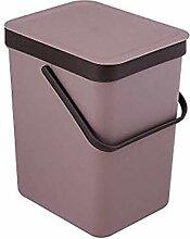 ZXJshyp Mülleimer mit einfarbigem Mülleimer