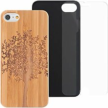 ZXK CO iPhone 6s Bamboo Case, iPhone 6S Hülle
