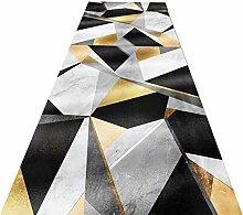 ZXL Läufer Teppich Geometric Design Flur Runner