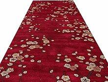 ZXL Läufer Teppich Red Runner Teppiche für Flur,