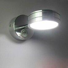 ZXL Moderne minimalistische Wandlampe Silber