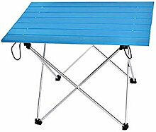 ZXL Tragbare Klapp-Camping-Tisch Aluminium