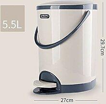 ZXP%lJT-Küchen-Abfalleimer Kunststoff Runde