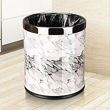 ZXP%lJT-Küchen-Abfalleimer Metall Mülleimer,